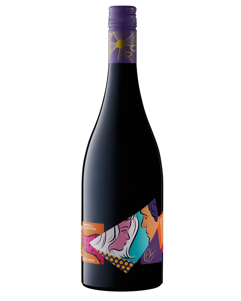 QUEALY Campbell & Christine Pinot Noir クイーリー カンベル&クリスティン ピノノワール   モーニングトンペンニンシュラバルナリング ¥ 4,830 2016, 750ml, 13.5   Cambell Mattisson 90 points   オーガニック, 1994, Hand Picked, Wild MV6, 114 and 115. 20% Whole Bunch, 24 days in vats, bentonite pad filter, low intervention, slight acid adjustment, minimal sulfites.  Has a dark black crimson colour, bright and translucent. The aroma is violets and plums, the palate rich and tannic however there is a deep and soft core. Firm, dry with stewy red berries and an itch of woody spice. Looks to have plenty of development up its sleeve. Will be interesting to follow