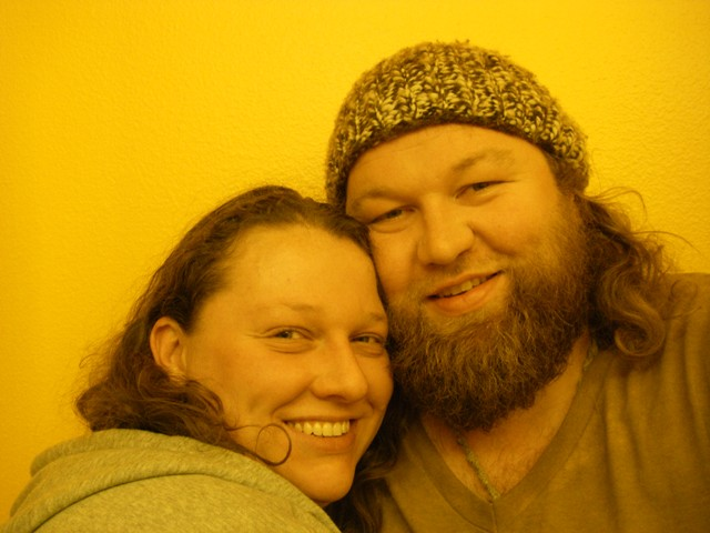 Erik & Amanda just moved into HippyLand, May 2010.