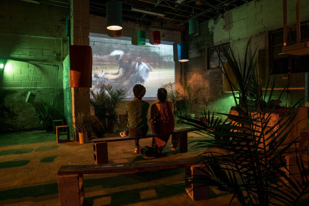 Argha Noah   A Pop-Up Community Art hub activating an unused mechanic's shop to host unique experiences.