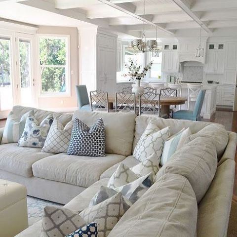 Dreaming of a space like this... #lounge #cream #white #interiors #love #classic #instainterior #decor #homewares