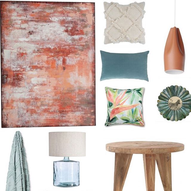 There's no doubting that colour is coming back in a big way and I'm so excited to be saying goodbye to boring neutrals! 👏 Recently I shared a colour scheme that a few months ago wouldn't have even crossed my mind! Terracotta and teal - the perfect pair of earthy tones to warm up with as the weather cools down. Check out livwithvision.com for the full post (link in bio) #livwithvision #design #interiors #terracotta #wintercolours