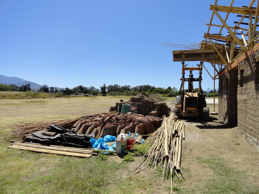 CONSTRUCTION OF GAME NIKE CHANGERS - SAN PEDRO APOSTOL, MEXICO