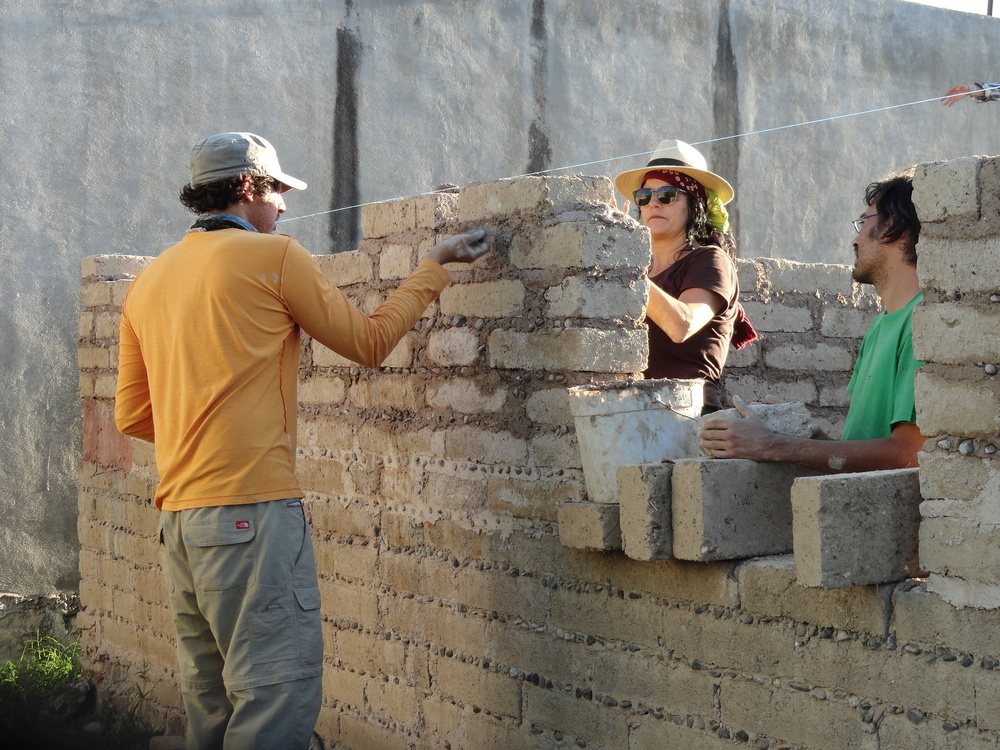 ADOBE CONSTRUCTION / CASA DONA MARTA WITH ADOBE FOR WOMEN