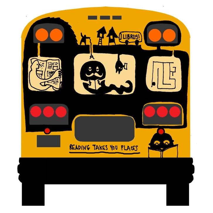 ARTWORK FOR SCHOOL BUS - NOBELTY PROJECT