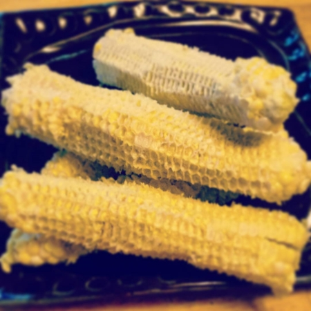 "Corn Cobs - I once heard someone refer to them as ""vegetarian soup bones"" and took it to heart."