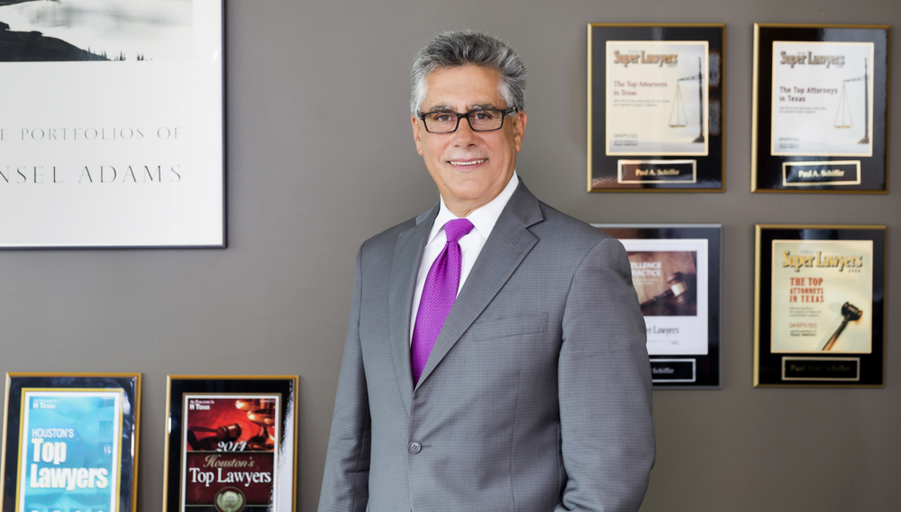 Super Lawyers, A Thomson Reuters Service 2005-2015. Houston's Top Lawyers by H-Texas magazine 2007-2015