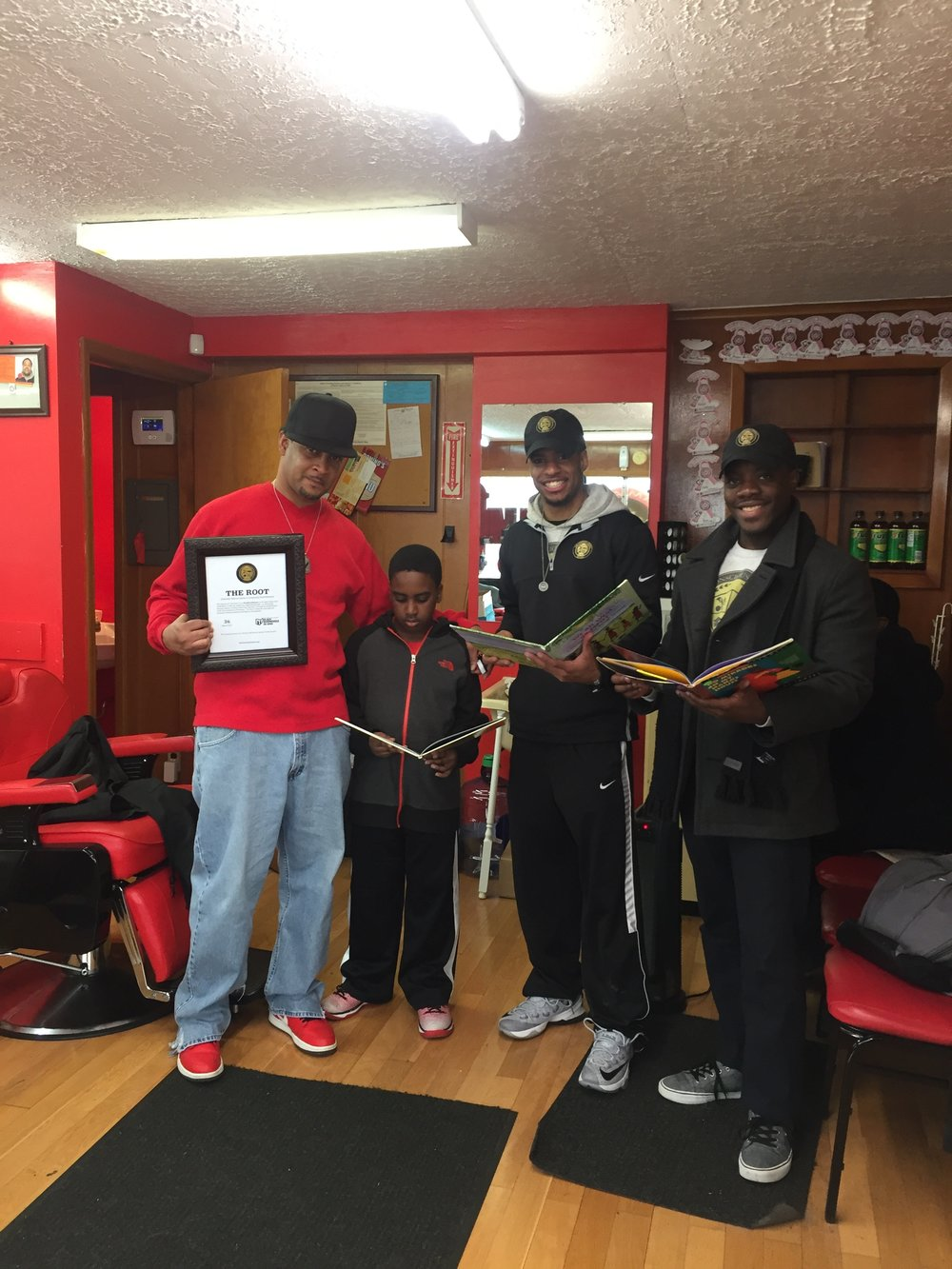 #36    Alpha Males Barber Shop    3872 Wold Road, Trotwood, OH 45416    March 2017