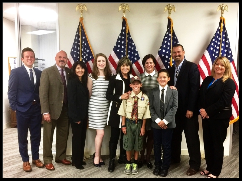 "Thank you, Congresswoman Mimi Walters, for your ""Promise to Remember Me"" (JDRF Advocacy Campaign)"