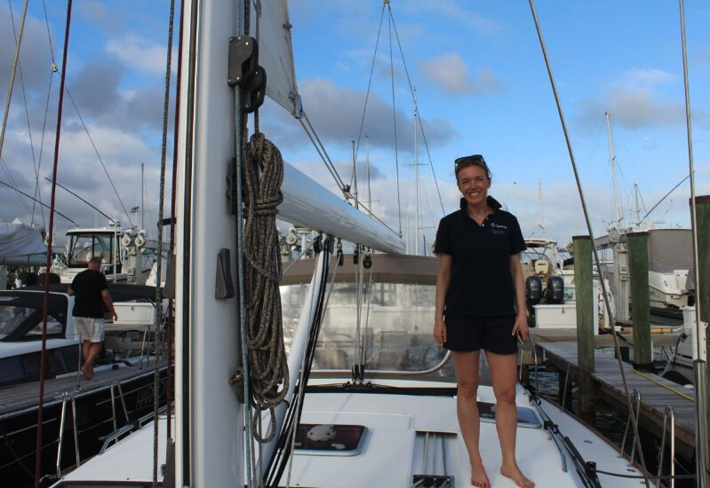 Delphine Braas, Cofounder  Photographs courtesy of Sailo team.