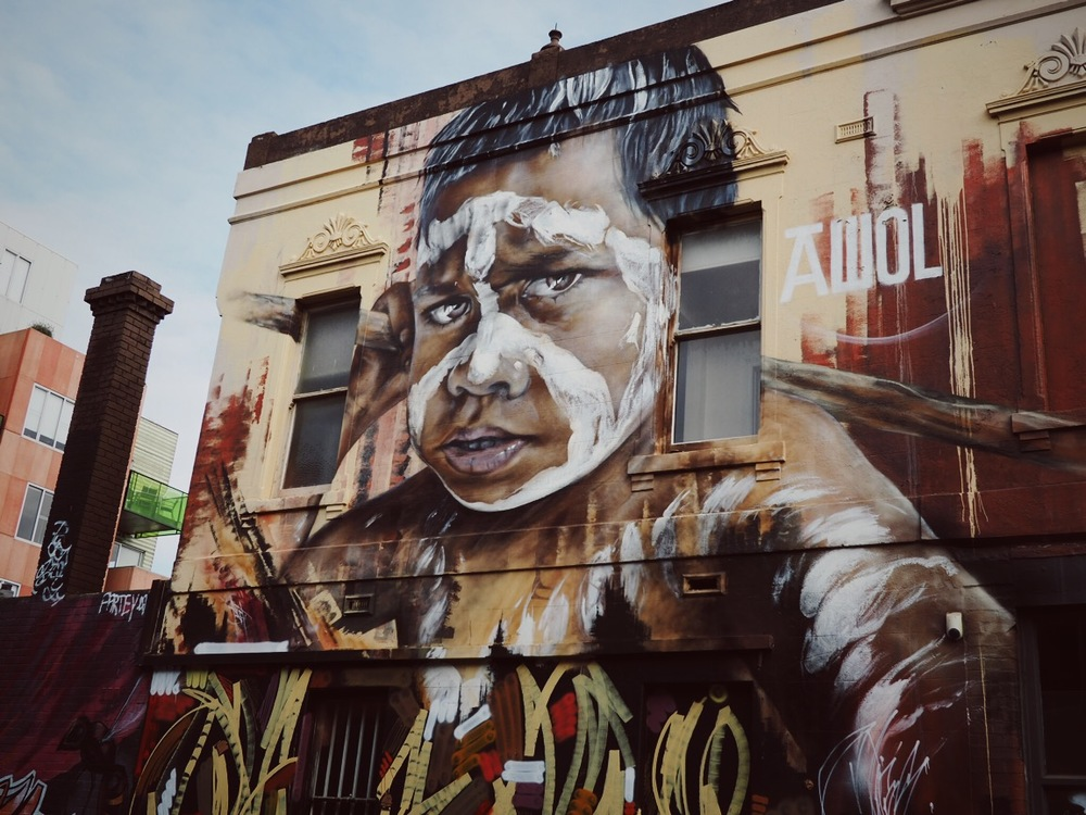 Terrene - Melbourne, Fitzroy. Street Art / Graffiti / Public Art. photograph by Ana Petre