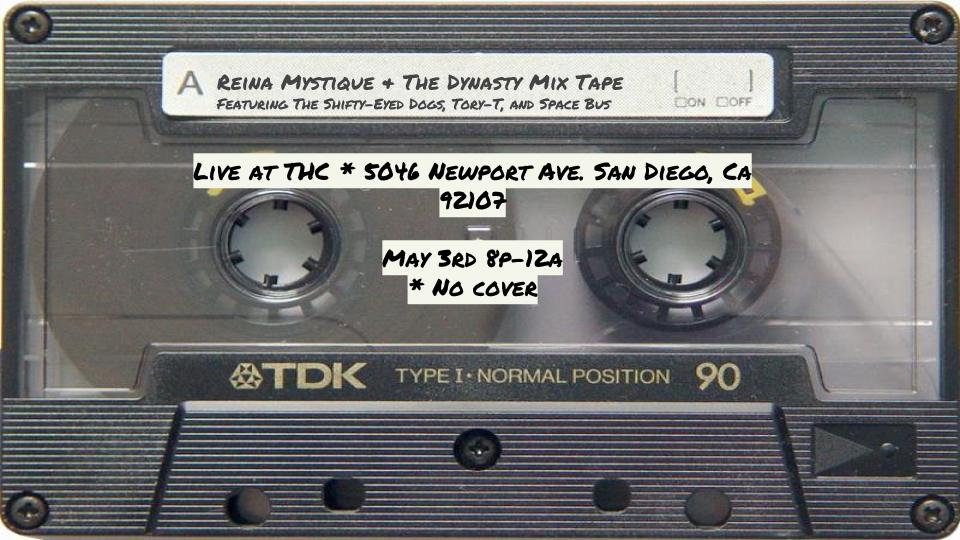 mixtape May 3rd at THC
