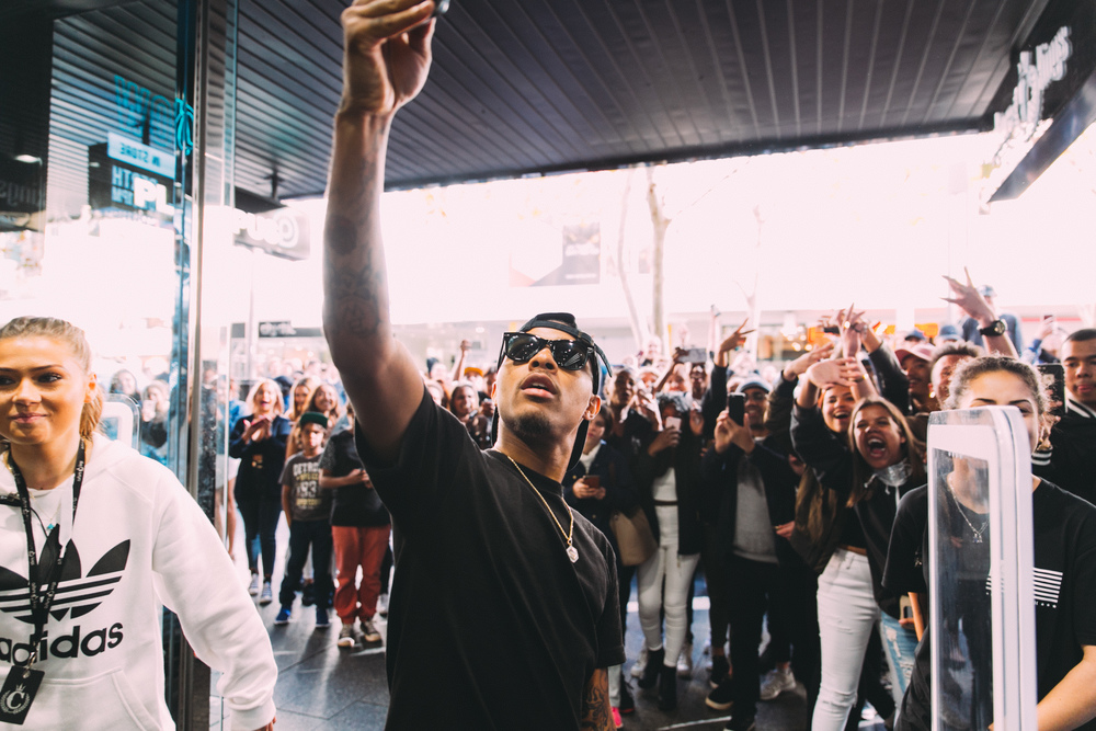 Bow Wow Meet 'N' Greet at Culture Kings Perth