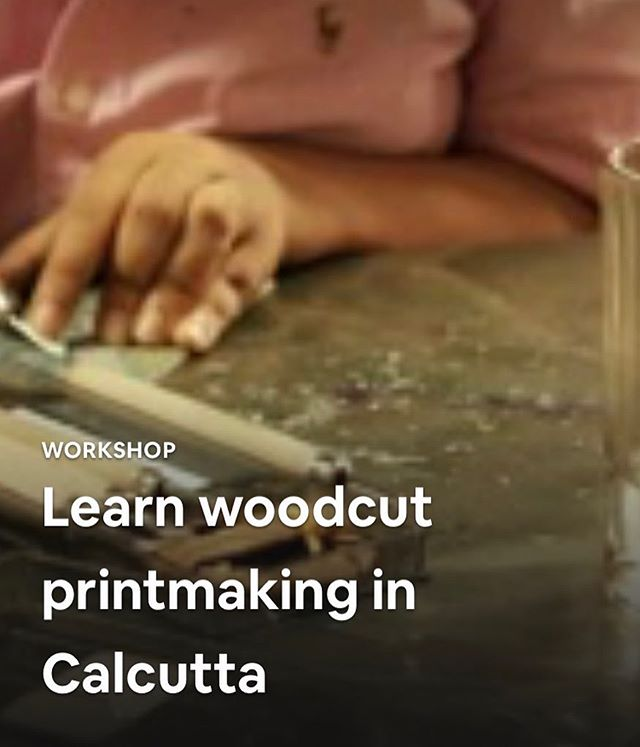 My Airbnb experience is now, finally, live! Super excited to share this journey with others, and be a part of the first 10 Airbnb experiences in Kolkata. https://www.airbnb.co.in/experiences/376279  @airbnb @airbnbindia  #printmaking #art #experience #calcutta #woodcut