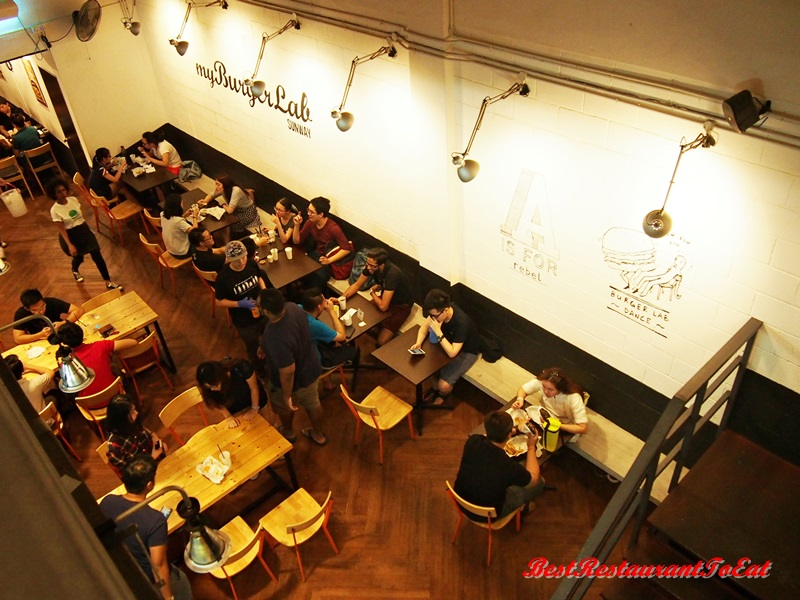 My Burger Lab Sunway Cafe 02Interior 1.JPG