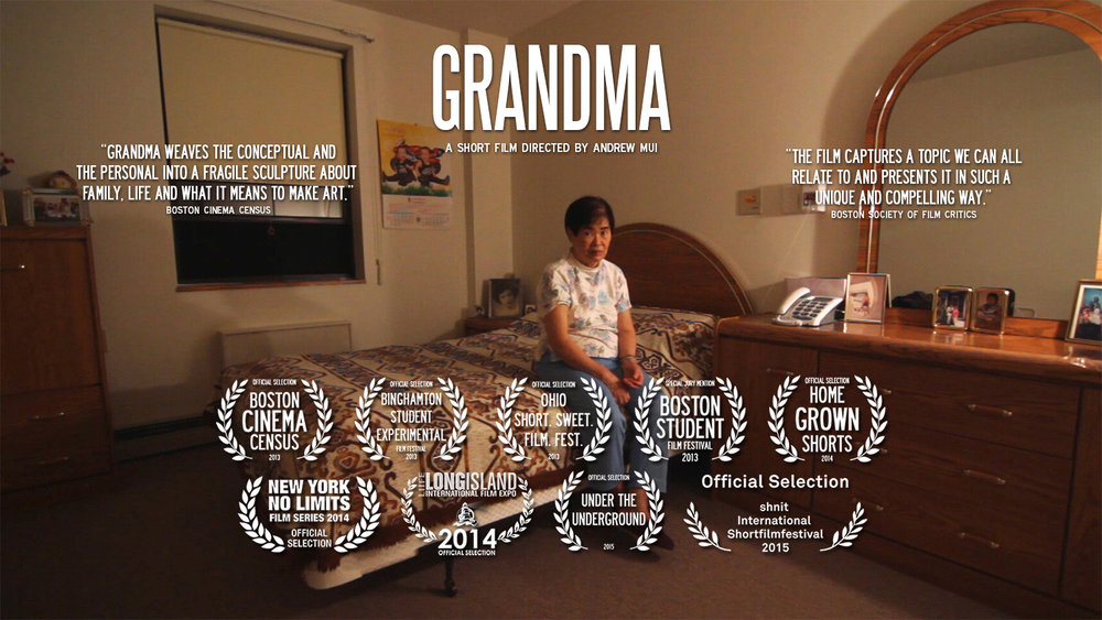 GRANDMA (2012) (Super16mm, 16mm, Digital) (9:01m)  A short film directed by Andrew Mui