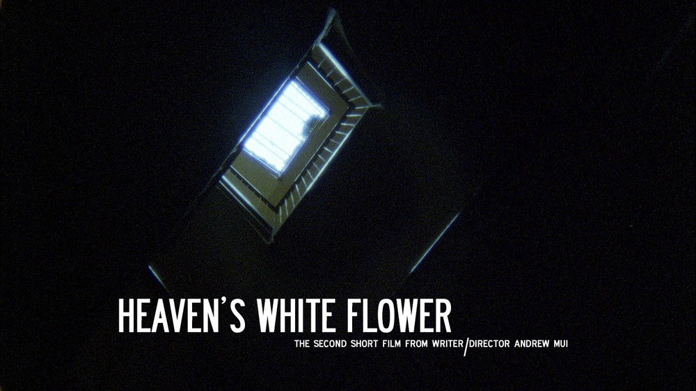 HEAVEN'S WHITE FLOWER (2017) (Super16mm)  A short filmed directed by Andrew Mui