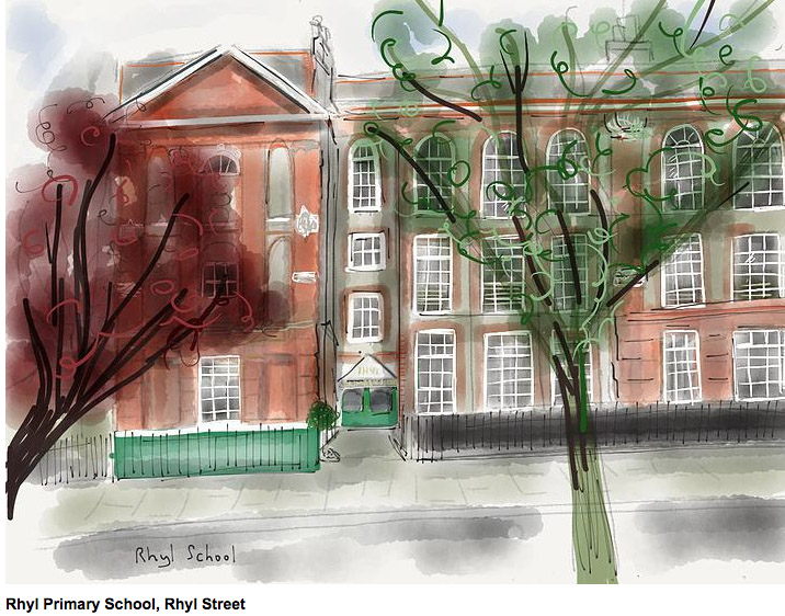 Rhyl Primary School by @secretartstnw5