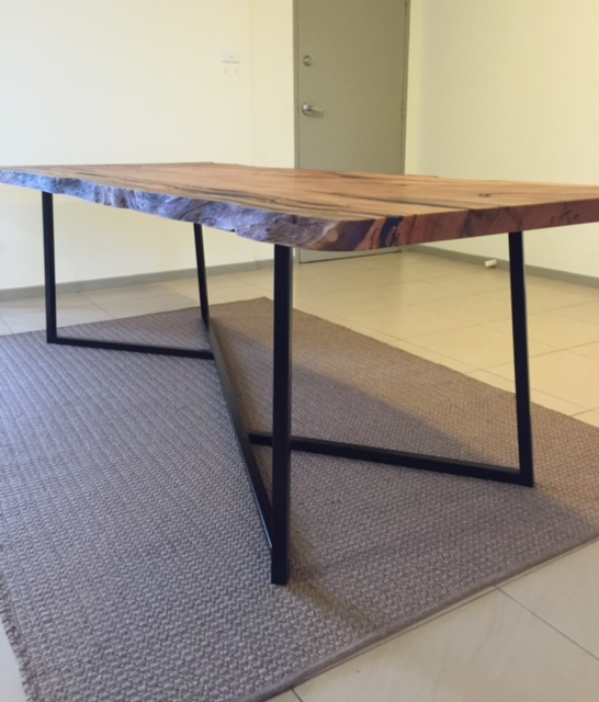 Steel Coffee Table Legs Brisbane: Custom Table Frames And Bases — Modcraft Australia