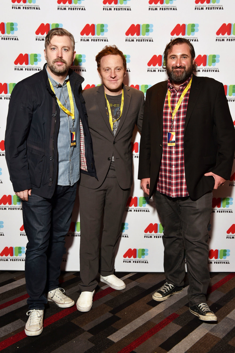 Prodcuer M J McMahon, director Matthew Jones and producer Brian A. Hoffman.