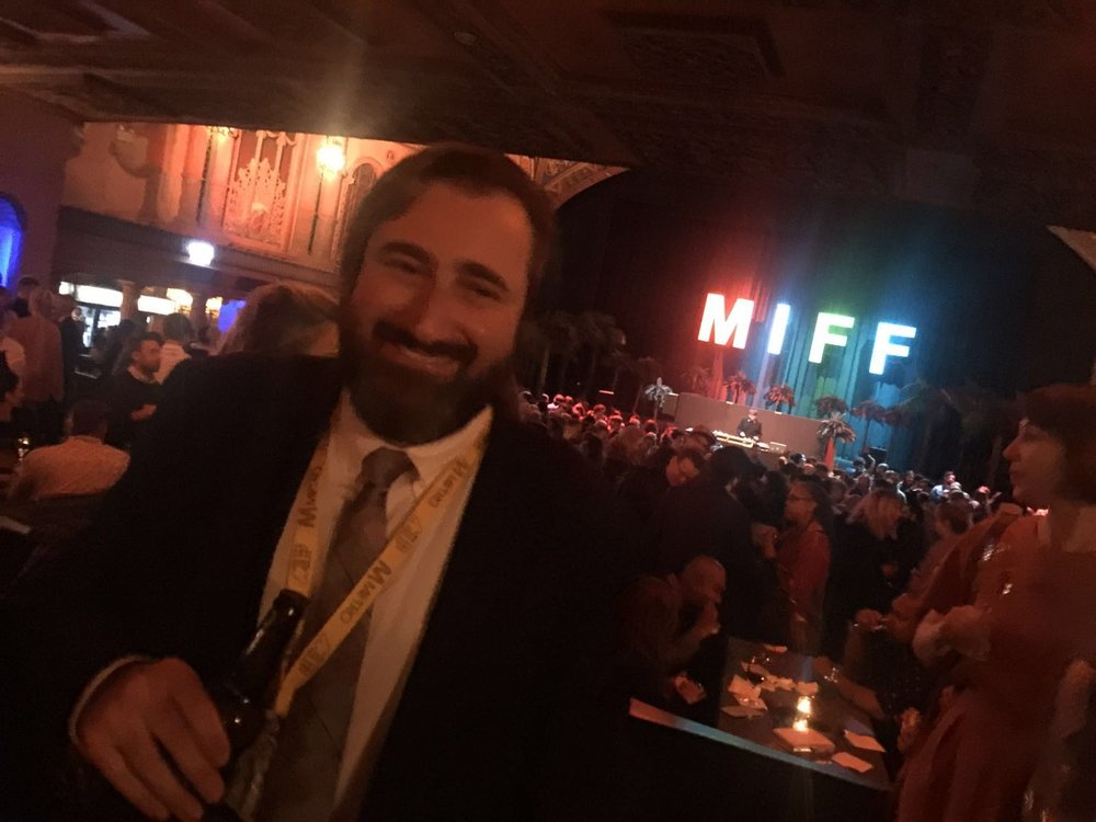 Producer Brian A. Hoffman at the MIFF Gala Screening of Down Under