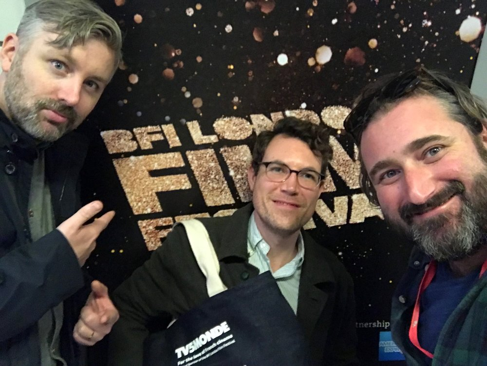 Producers M J McMahon and Brian A. Hoffman with editor Alec Rossiter