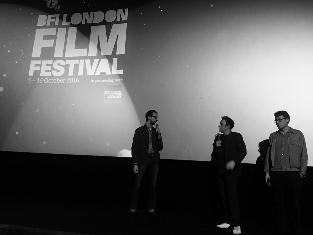 Tim Stevens, director Matthew Jones and editor Alec Rossiter