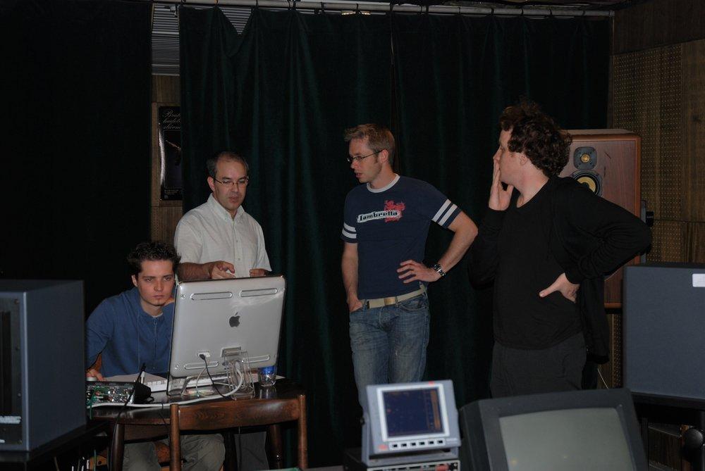 Conductor, David Hernado, Composer, Stuart Hancock, and Producer, Matthew Jones