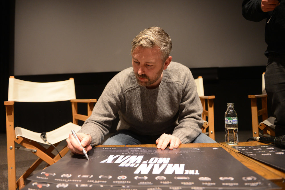 Producer M J McMahon