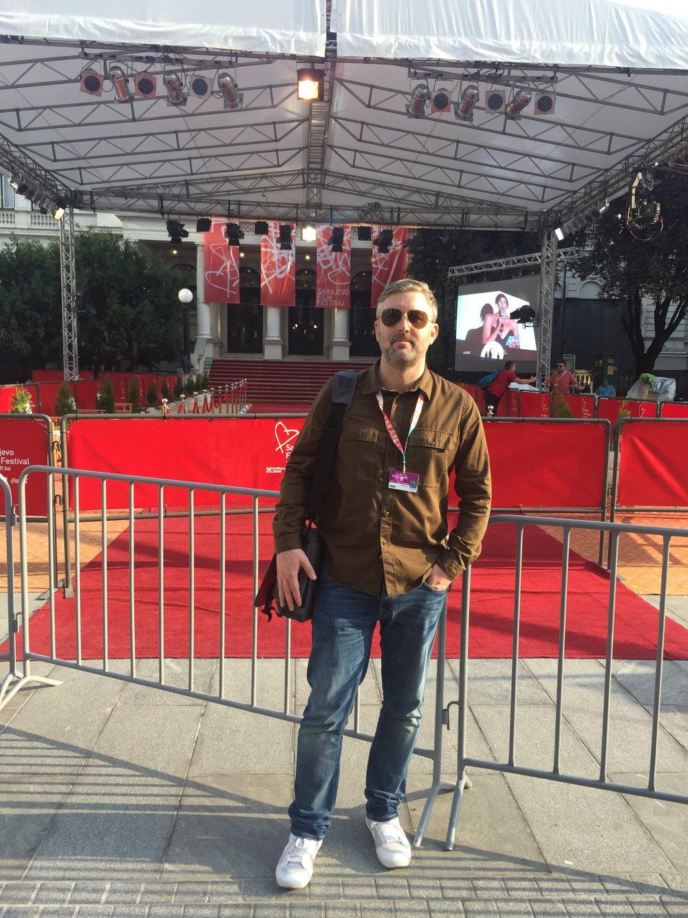 Director/producer M J McMahon