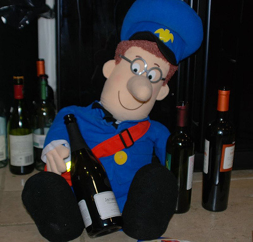Not the actual postman pat