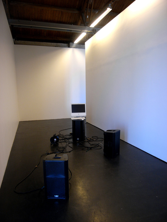 Aorta Mitral Valve  (2011), sound installation, 5.46 min.