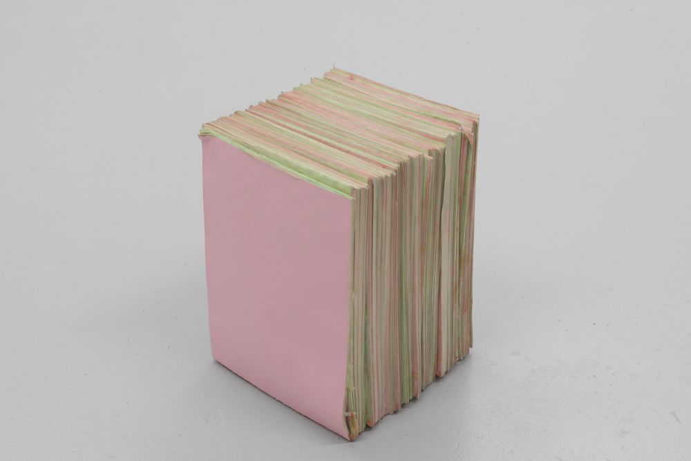 Untitled (unfold)  (2015), paper, latex, talcum, 31 x 21 x 21cm  Private collection, Miami    Photo: Tommy Ellingsen