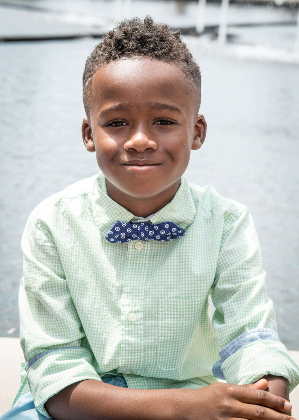 Because nothing says cute like a kid in a bow tie
