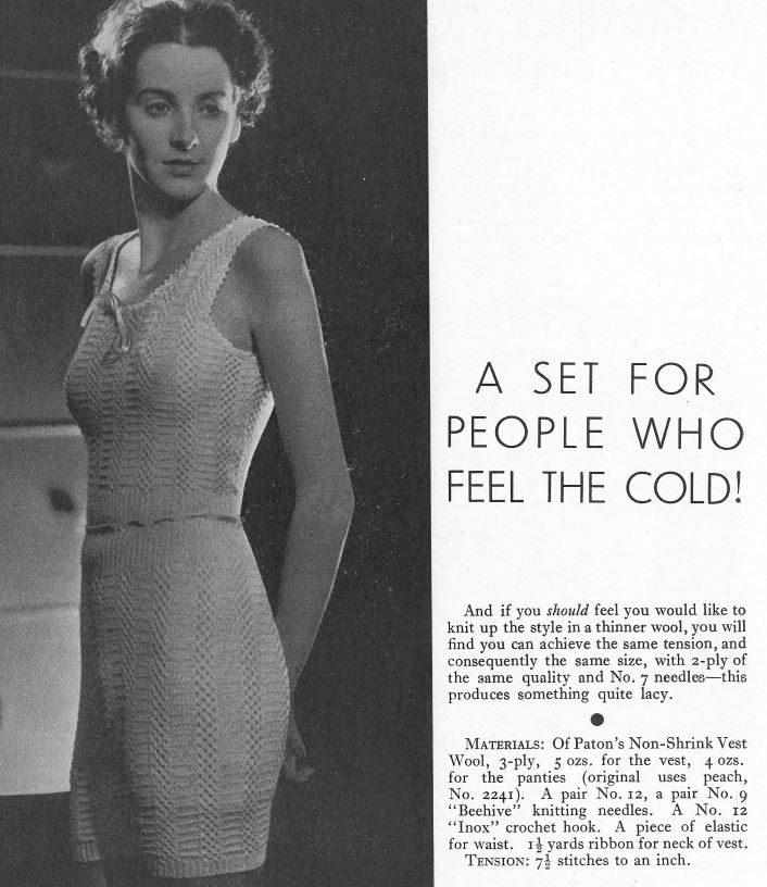 Free Vintage Patterns Recycle Knits