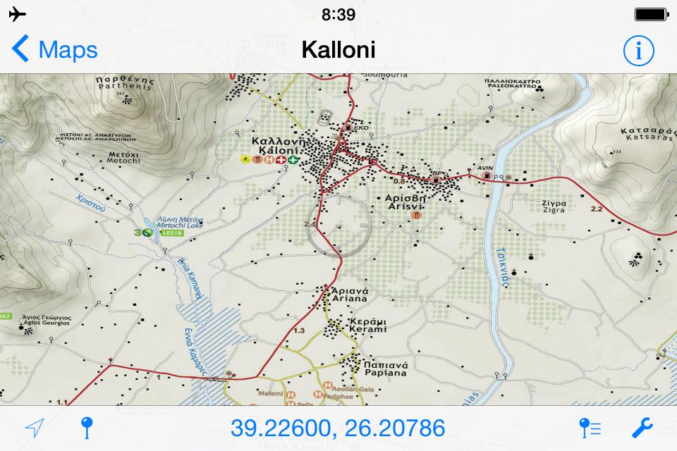 Kalloni//Καλλονή Λέσβου - [[Scale 1:23.000///Κλίμακα 1:23.000]]