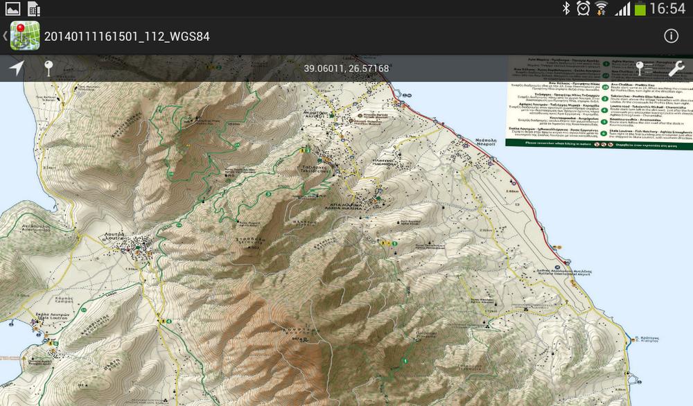 Mytilini Peninsula//Μυτιλήνη (Αμαλή) - [[Scale 1:18.000///Κλίμακα 1:18.000]]