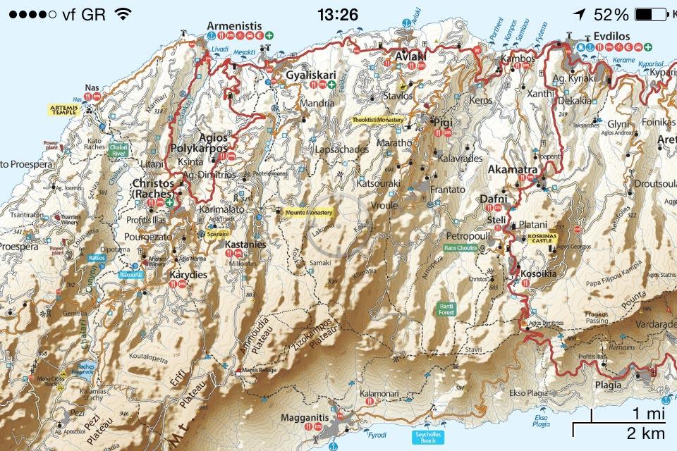 Ikaria//Ικαρία - [[Scale 1:40.000///Κλίμακα 1:40.000]]