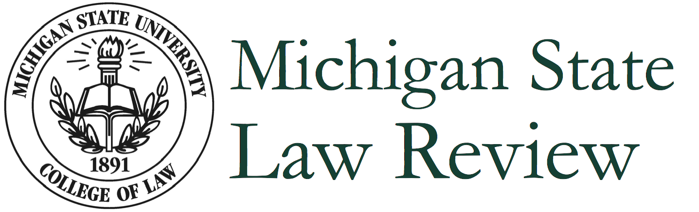 Michigan State Law Review