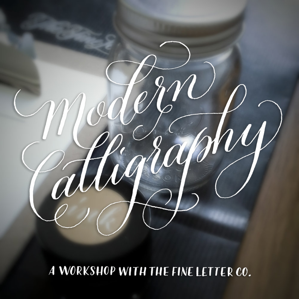 Book your Calligraphy Workshop