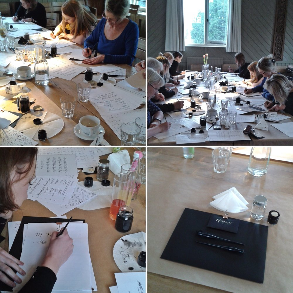 Book your place on An Introduction to Modern Calligraphy!