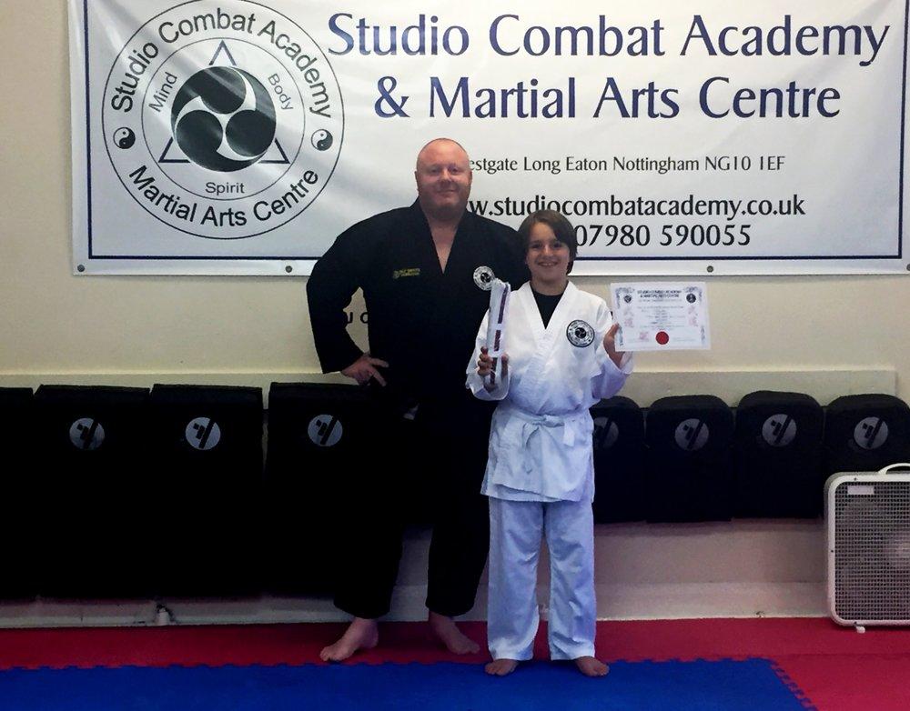 Junior Ju-Jitsu Grading August 2017