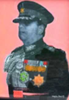 The General. Acrylic on Paper. 6000 kr.