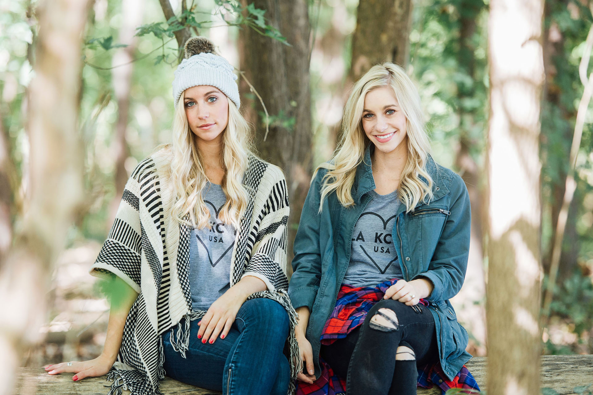 Fashion Column Twins Ocean and Sea 003