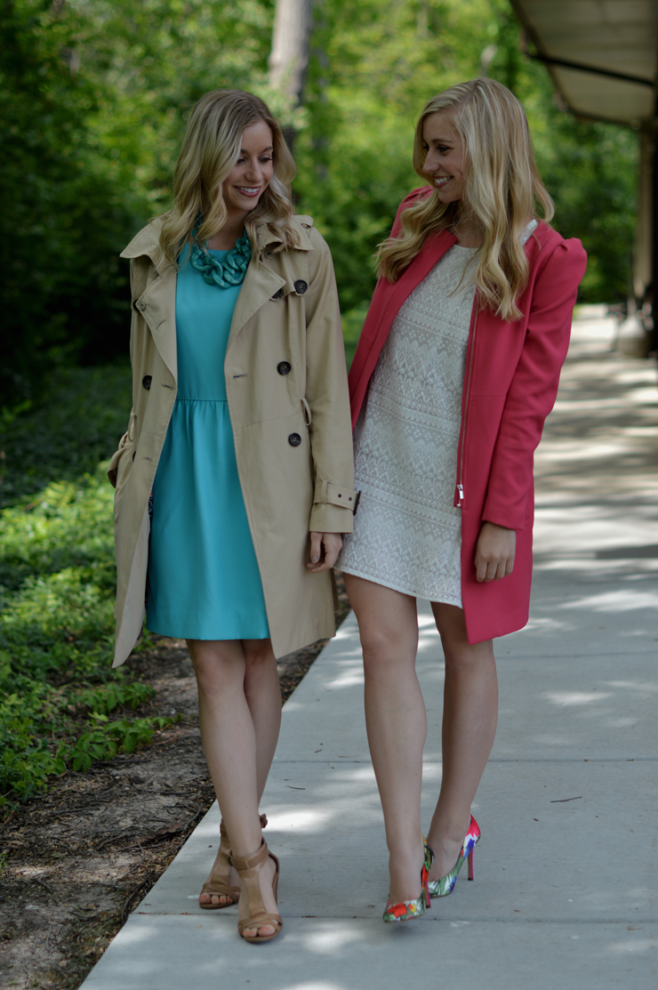 Fashion Column Twins/ Graduation/ J Crew dress/ H&M/Urban Outfitters