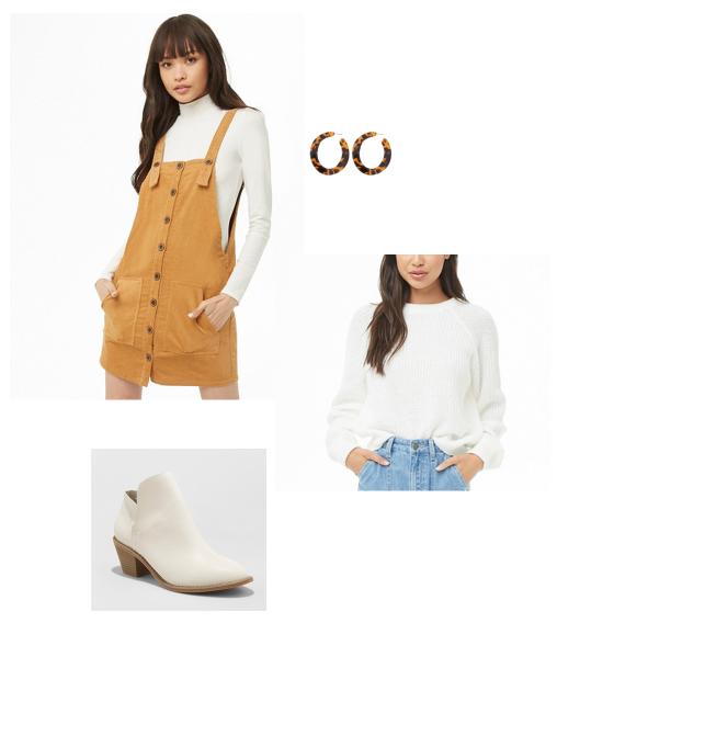 SHOP THIS LOOK:     Jumper    |    Earrings    |    Sweater    |    Booties