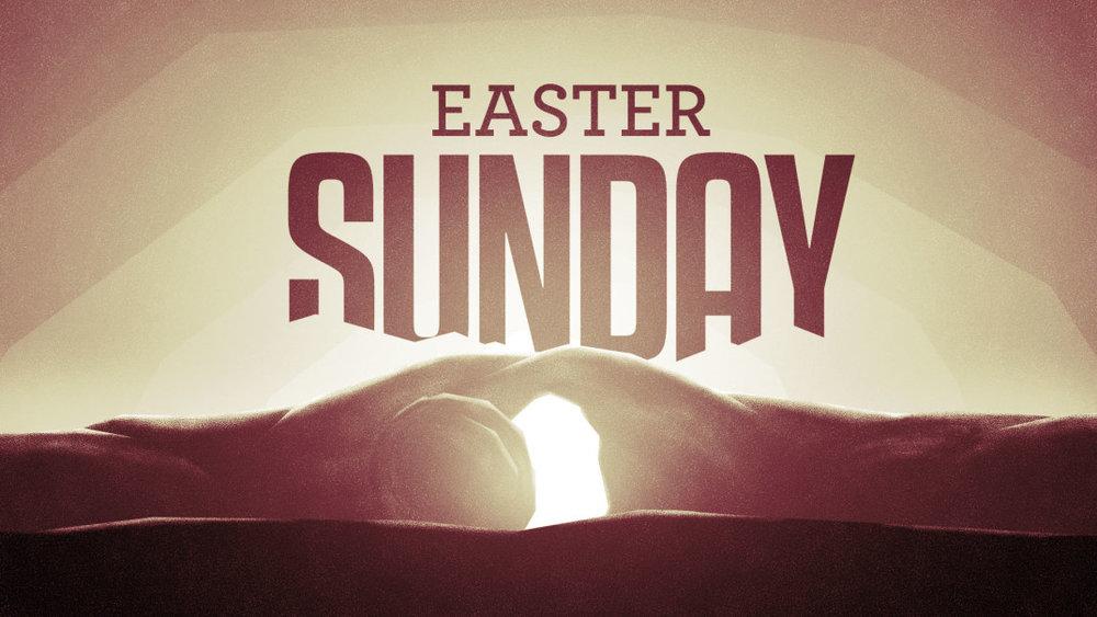 Easter Sunday Service  - Sunday April 21 @ 10 am