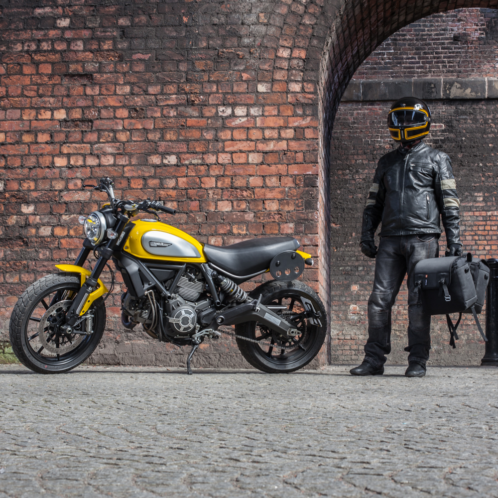 Kriega Saddlebag Platform Ducati Scrambler Duo