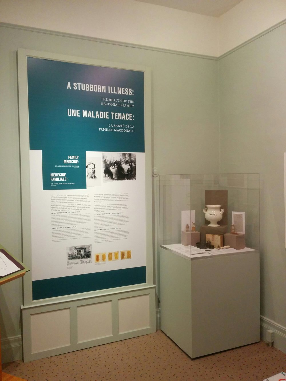 MacLachlan Woodworking Museum - Museum Display Cases