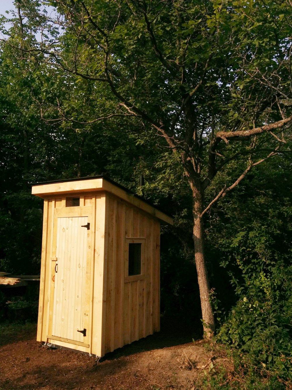 Custom Cedar Outhouse - Project 2