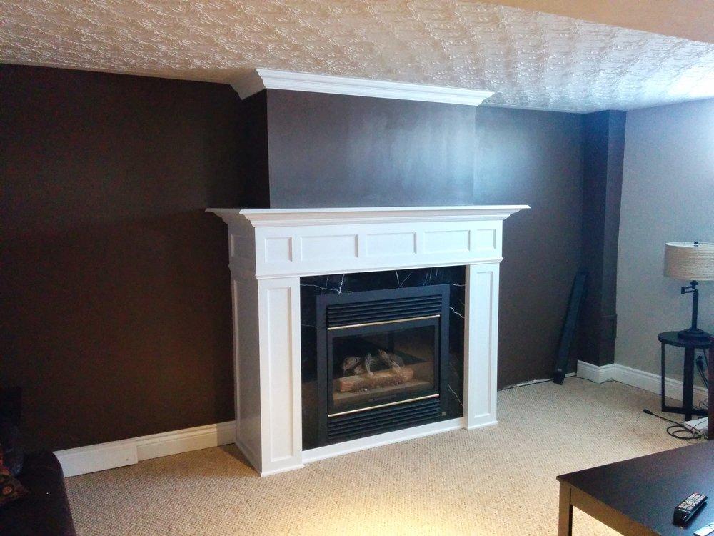 Custom Fireplace Enclosure